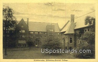 Hawthornden, Milwaukee Downer College - Wisconsin WI Postcard