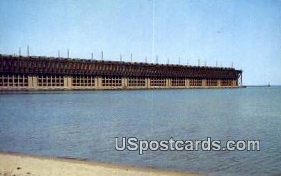 Ore Docks - Misc, Wisconsin WI Postcard