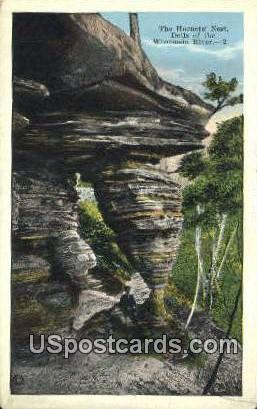 Hornet's Nest - Dells Of The Wisconsin River Postcards, Wisconsin WI Postcard