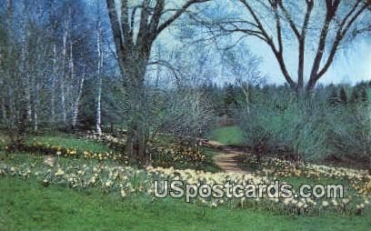 Whitnall Park, Botanical Gardens - Hales Corners, Wisconsin WI Postcard