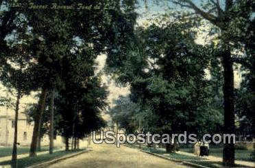 Forest Avenue - Fond du Lac, Wisconsin WI Postcard