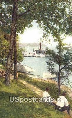 Landing, YMCA Camp - Lake Geneva, Wisconsin WI Postcard