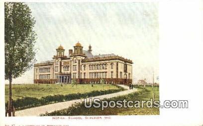 Normal School - Superior, Wisconsin WI Postcard