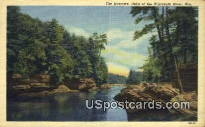 The Narrows - Dells Of The Wisconsin River Postcards, Wisconsin WI Postcard