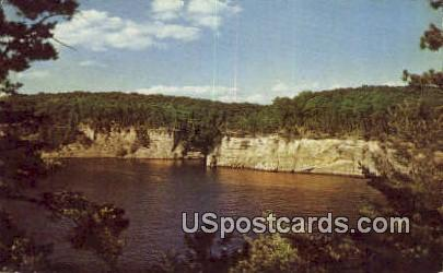Sunset Cliffs - Wisconsin Dells Postcards, Wisconsin WI Postcard