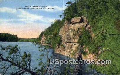 Black Hawk's Had - Wisconsin Dells Postcards, Wisconsin WI Postcard