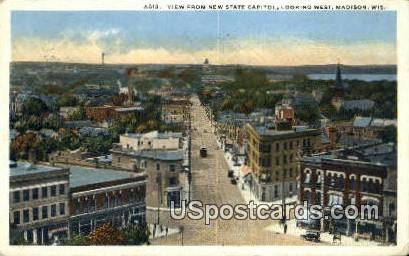 New State Capitol - Madison, Wisconsin WI Postcard