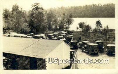 Real Photo - Stone Lake, Wisconsin WI Postcard