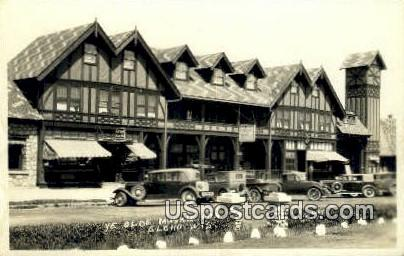 Ye Olde Muskie Inn Real Photo - Elcho, Wisconsin WI Postcard