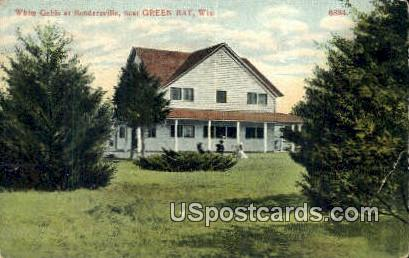 White Gable, Bendersville - Green Bay, Wisconsin WI Postcard