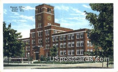 General Office, Kohler Co - Wisconsin WI Postcard