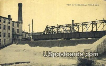 Sheboygan Falls, Wisconsin     ;     Sheboygan Falls, WI Postcard