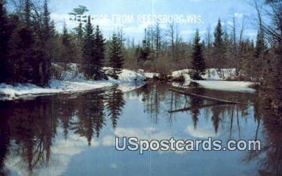 Reedsburg, Wisconsin     ;     Reedsburg, WI Postcard