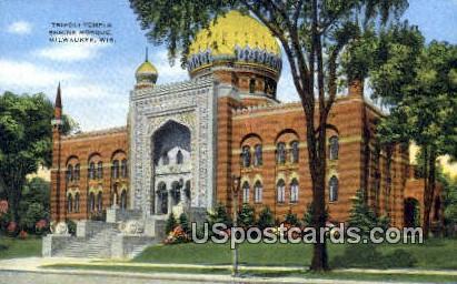 Tripoli Temple Shrine Mosque - MIlwaukee, Wisconsin WI Postcard