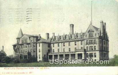 Milwaukee Protestant Home for the Aged - Wisconsin WI Postcard