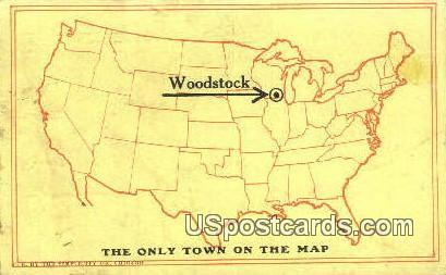 Woodstock, Wisconsin     ;     Woodstock, WI Postcard