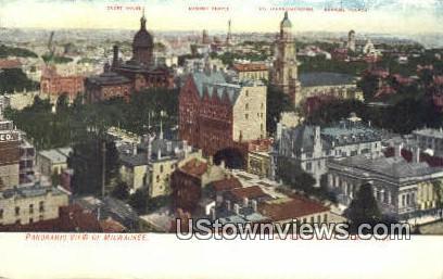 Milwaukee, WI,     ;     Milwaukee, Wisconsin Postcard