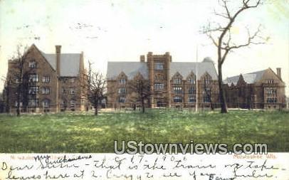 Downer College - MIlwaukee, Wisconsin WI Postcard