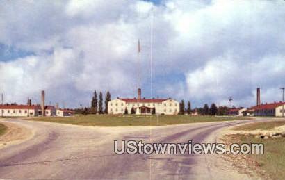 US Army Post Headquarters - Sparta, Wisconsin WI Postcard