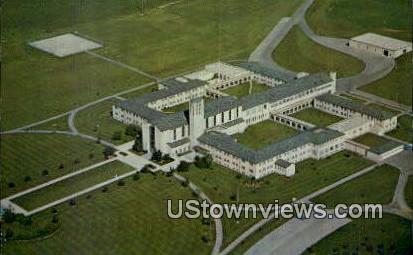Saint Norbert Abbey - De Pere, Wisconsin WI Postcard
