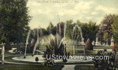 Oak Grove Cemetery - La Crosse, Wisconsin WI Postcard