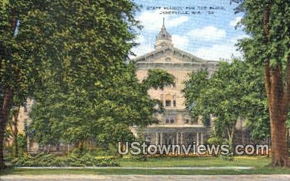State School for the Blind - Janesville, Wisconsin WI Postcard