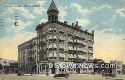 Globe Hotel - MIlwaukee, Wisconsin WI Postcard
