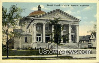 Second Church of Christ Scientist - MIlwaukee, Wisconsin WI Postcard