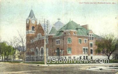Court House & Jail - Richland Center, Wisconsin WI Postcard