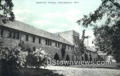 Nashotah Mission - Oconomowoc, Wisconsin WI Postcard