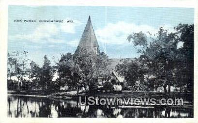 Zion Parish - Oconomowoc, Wisconsin WI Postcard