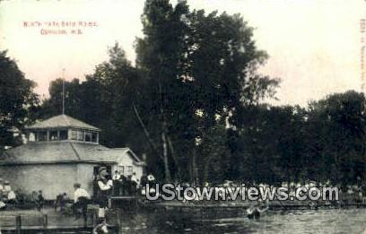 North Park Bath House - Oshkosh, Wisconsin WI Postcard