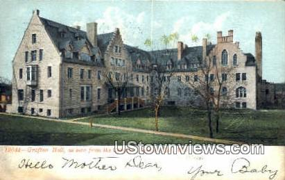 Grafton Hall, Campus - Fond du Lac, Wisconsin WI Postcard