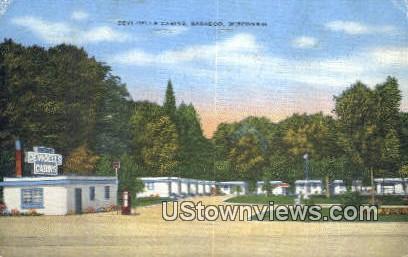 Devi Dells Cabins - Baraboo, Wisconsin WI Postcard
