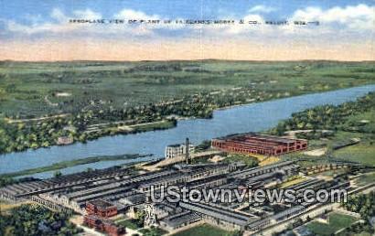Fairbanks Morse & Co - Beloit, Wisconsin WI Postcard