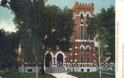 Second Congregational Church - Beloit, Wisconsin WI Postcard