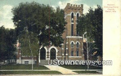 Congregational Church - Beloit, Wisconsin WI Postcard