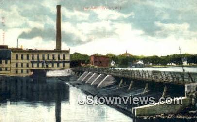 The Dam - Beloit, Wisconsin WI Postcard