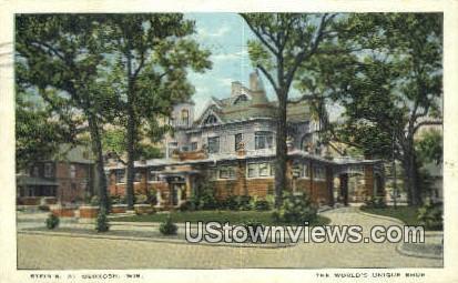 Stein's - Oshkosh, Wisconsin WI Postcard