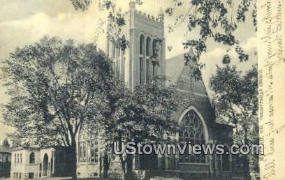 Presbyterian Church - Neenah, Wisconsin WI Postcard