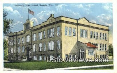 Kimberly High School - Neenah, Wisconsin WI Postcard