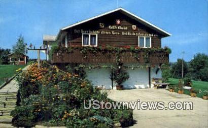 Tell's Chalet - New Glarus, Wisconsin WI Postcard