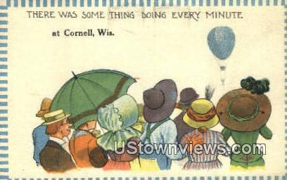 Cornell, Wisconsin,     ;     Cornell, WI Postcard