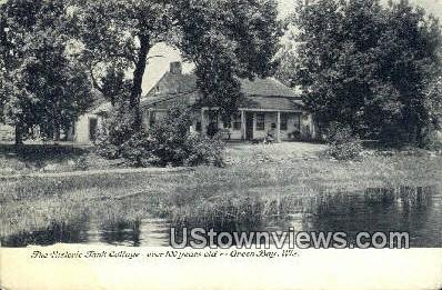 Tank Cottage - Green Bay, Wisconsin WI Postcard
