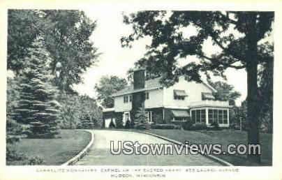 Carmelite Monastery - Hudson, Wisconsin WI Postcard