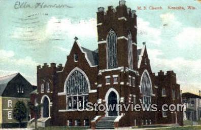 ME Church - Kenosha, Wisconsin WI Postcard