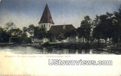 Episcopal Church, Flower Lake - Oconomowoc, Wisconsin WI Postcard