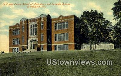 Agriculture & Domestic Science - Onalaska, Wisconsin WI Postcard