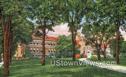 Central State Teacher's College - Stevens Point, Wisconsin WI Postcard