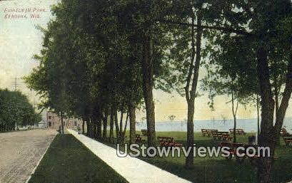 Eichelman Park - Kenosha, Wisconsin WI Postcard